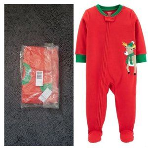 NEW Size 2T Toddler Onesie Bodysuit pjs Christmas